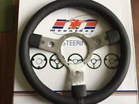 Leather rim wheel