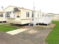 Starter Caravan - Wllerby Lyndhurst with 50/50 Ground Rent for 2018 & Decking, Coastfields Leisure
