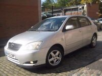 TOYOTA COROLLA NEW SHAPE 53 REG #### CHEAP TO TAX AND INSURE #### 5 DOOR HATCHBACK