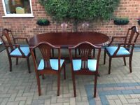 Dining Table and Chairs Lovely Quality, excellent condition