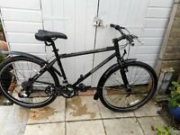 mans black18 inch frame kona smoke with lock