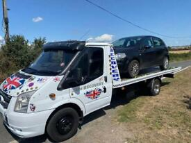 Recovery service throughout Kent cars vans tools