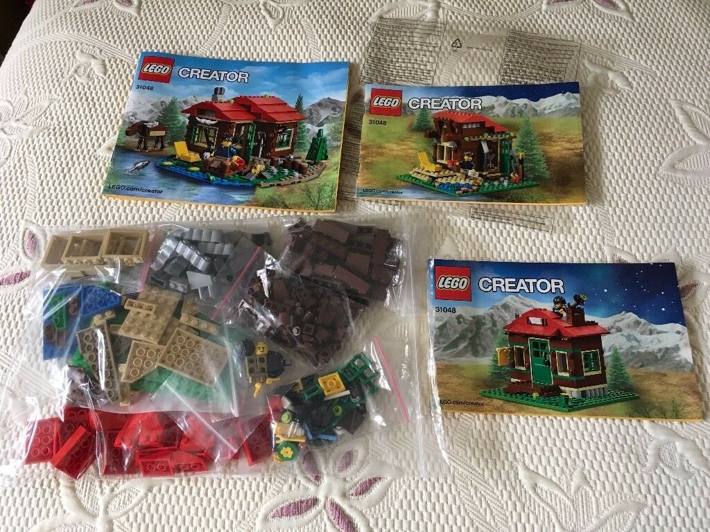 LEGO Creator 3 in 1 Lodge 31048 (Used)