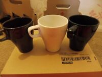 Huge lot of 25+ IKEA mugs, coke glasses, biscuit tin, serving bowl. Students, Groups, Church