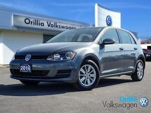 2016 Volkswagen Golf BLUETOOTH, HEATED SEATS, ALLOY WHEELS