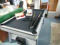 Pool Table half size