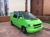 VW Transporter T4 800 Special Camper van, including roof rack/leisure battery/gas bottle/sink
