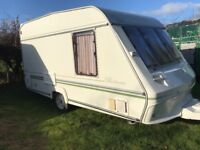 2 Birth Lightweight Touring Caravan by Ace, Many Extras