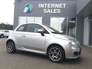 2014 Fiat 500 Sport ALLOY LOADED