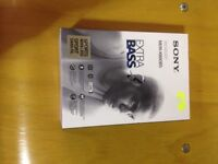 Sony mdr-xb8obs headphones brand new in the box