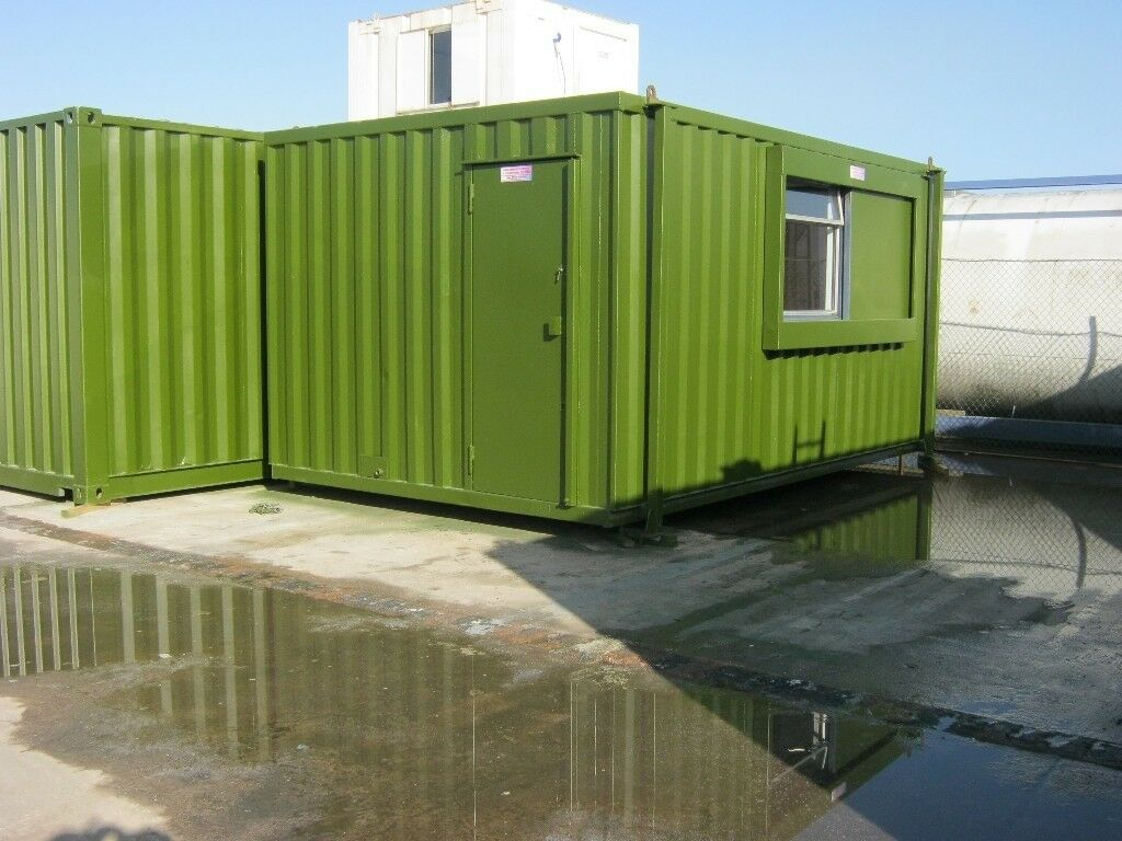 Anti Vandal Portable Cabin 16ft x 10ft Site Office Welfare Unit FOR SALE IN  STOCK shipping container | in Grangemouth, Falkirk | Gumtree