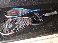 Squah rackets