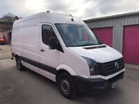 VOLKSWAGEN CRAFTER CR35 TDI 136 MWB ,ONE KEEPER, 61REG FOR SALE