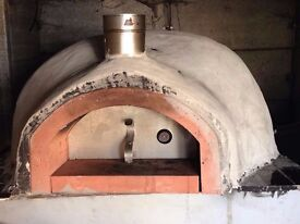 Wood fired oven brand new, hand made.