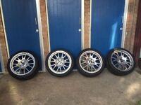 BBS M-sport tyres