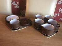 Hornsea pottery set