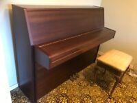 Upright Yamaha piano
