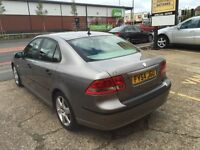 2005 SAAB 9-3 1.9TD DIESEL REMOTE CENTRAL LOCKING WITH 2 KEYS , HALF LEATHERS