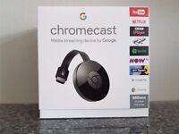 "Google Chromecast 2, ""BRAND NEW SEALED IN BOX"""