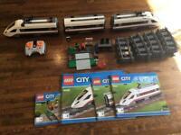 Lego City Train 60051 with Extra track 7895 -7499