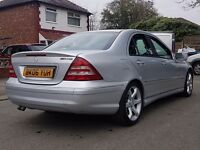*** Mercedes C220 CDi -SPORT EDITION - FACELIFT 06 - MINT - FULL SERVICE - TOP SPEC - AUDI BMW TDI *