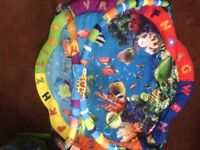 Sealife play mat