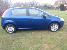 FIAT GRANDE PUNTO ACTIVE 1.2 2006 5 DOOR ONLY 59K JUNE 2017 MOT