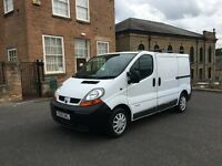 2005 1.9 Dci ONLY!!! 71K MILES!!! WHITE RENAULT TRAFIC FRESH MOT 08/2017 LIKE VIVARO AND PRIMASTAR