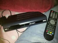 Bush Freeview+ 500gb recordable box with remote