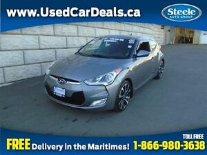 2012 Hyundai Veloster Tech Pano Roof Htd Seats Alloys