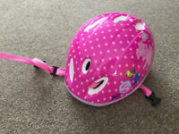 Peppa Pig Bike Bicycle Scooter Helmet Age 3-5
