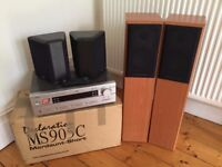 Surround Sound Setup - Speakers + Digital Amp