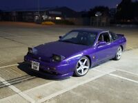 Nissan 200sx s13 purple