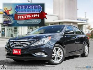 2011 Hyundai Sonata LIMITED, LEATHER, SUNROOF, MORE!!!!