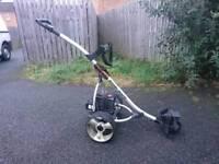 Slowamatic Electric Motorized Golf Trolley