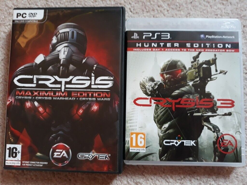 Crysis Maximum Edition and Crysis 3 PC and PS3 Games | in Cambridge,  Cambridgeshire | Gumtree