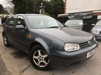 Volkswagen Golf 1.6 Automatic Owners 2 Keys New 4 Tyres Recently FITTED