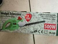 hedge trimmers 500w for garden