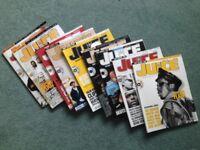 "Nine issues of ""Juice"" magazine - in German"