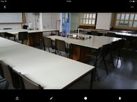 All tables and chairs. JOB LOT.PLEASE CHECK OUT. I HAVE OTHER ITEMS ON Shpock.