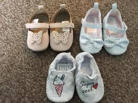 Baby girl shoes 9-12 months-brand new