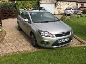 Ford Focus CC-2 convertible 09 Plate Low Milage -56k miles
