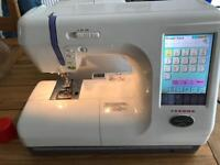 Janome 10000 Memory Craft Embroidery Sewing Machine