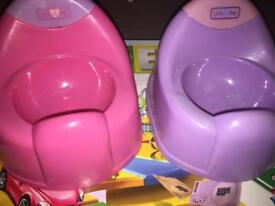 2 kids TOY potty's