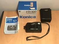 Konica MT-100 camera with box and bag