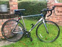Boardman Sport 16 speed Road bike,56cm silver frame,Claris gears/shifters,700c cpx wheels
