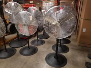 "Industrial Stationary Fans - Up to 32"" - Only $298!!!"