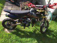Pit bike 140cc racing engine