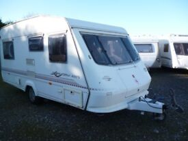 Elddis Firestorm 470/5, 2000 Model with Full Awning & Motor Mover, perfect starter caravan, read on