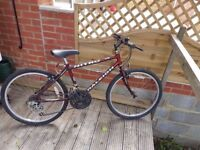 Cheap Raleigh Nitro Bicycle in good condition